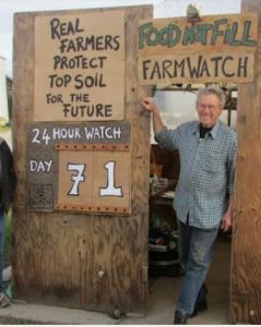 Ray at Farm booth