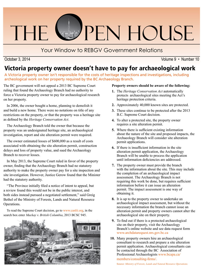 38.-Victoria-Property-Owner-doesn't-have-to-pay-for-archaeological-work,-October-3,-2014