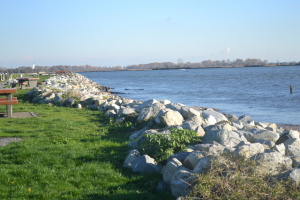 boulders on the dyke